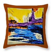 The Timeless Land - Number Five Throw Pillow