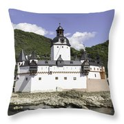 The Toll Castle Throw Pillow