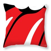 The Tongue No.01 Throw Pillow