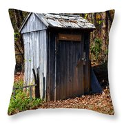 The Tool Shed Throw Pillow