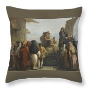 The Toothpuller Throw Pillow