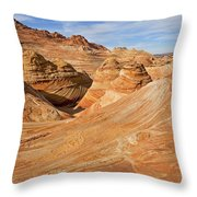 The Top Of The Wave Throw Pillow