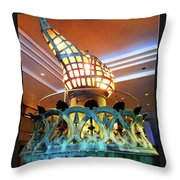The Torch 1 Throw Pillow