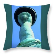 The Torch 2 Throw Pillow