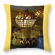 The Torch 3 Throw Pillow