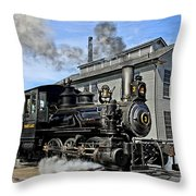 The Torch Lake Throw Pillow