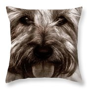 The Toto Throw Pillow