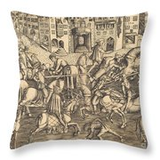 The Tournament Throw Pillow