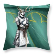 The Tourney Throw Pillow by Brandy Woods
