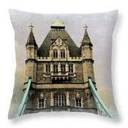 The Tower Bridge In London 2 Throw Pillow