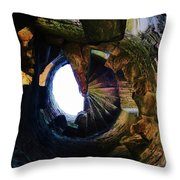 The Tower Stairs Throw Pillow