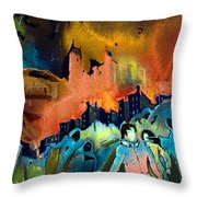 The Towers Of London Throw Pillow