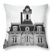 The Town Hall Throw Pillow