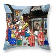 The Town Mouse And The Country Mouse Throw Pillow