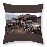 The Town Of Cody Wyoming Throw Pillow