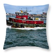 The Town Point Throw Pillow
