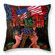The Toxic Avenger Throw Pillow