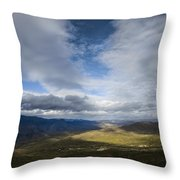 The Trail Leads Straight To You Throw Pillow