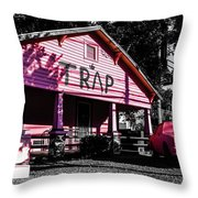 The Traphouse  Throw Pillow