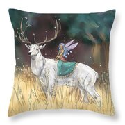 The Traveler Throw Pillow by Brandy Woods
