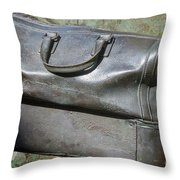 The Travellers Travel Bag Throw Pillow