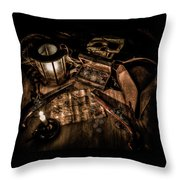The Treasure Hunt Throw Pillow