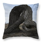 The Tree Creature Throw Pillow