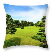 The Tree Garden Throw Pillow