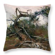 The Tree Gave Its Branches 4 Throw Pillow