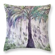 The Tree Of Life II  Throw Pillow
