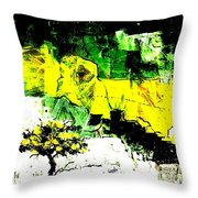 The Tree Of Life. Throw Pillow