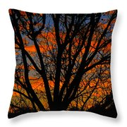 The Tree Of Shapes Throw Pillow