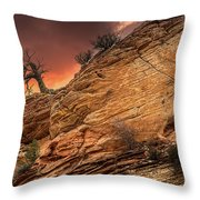 The Tree Of Zion Throw Pillow