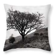 The Tree On The Fell Throw Pillow