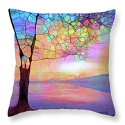 The Tree That Understands Throw Pillow