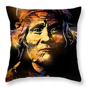The Tribe Elder Throw Pillow