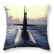The Trident Nuclear Submarine, Ohio Throw Pillow