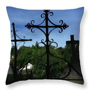 The Trinity Of A Different Kind Throw Pillow