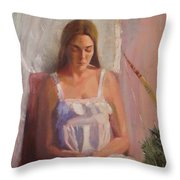 The Trophy Throw Pillow