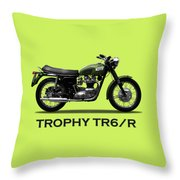 The Trophy Tr6r Throw Pillow