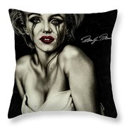 The True Marilyn Throw Pillow