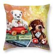 The Truffle From Whitby Throw Pillow