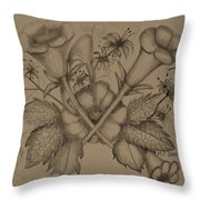 The Trumpet's Song Throw Pillow