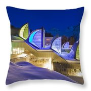 The Tschuggen Bergoase Spa Throw Pillow