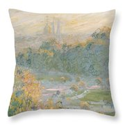 The Tuileries Throw Pillow
