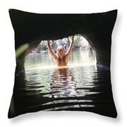The Tunnel 4 Throw Pillow