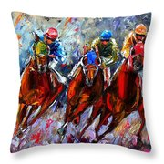 The Turn 2 Throw Pillow
