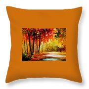 The Turn Of Fortune Throw Pillow