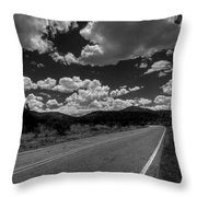The Turquoise Trail Throw Pillow