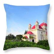 the Twelve Apostles Church Throw Pillow